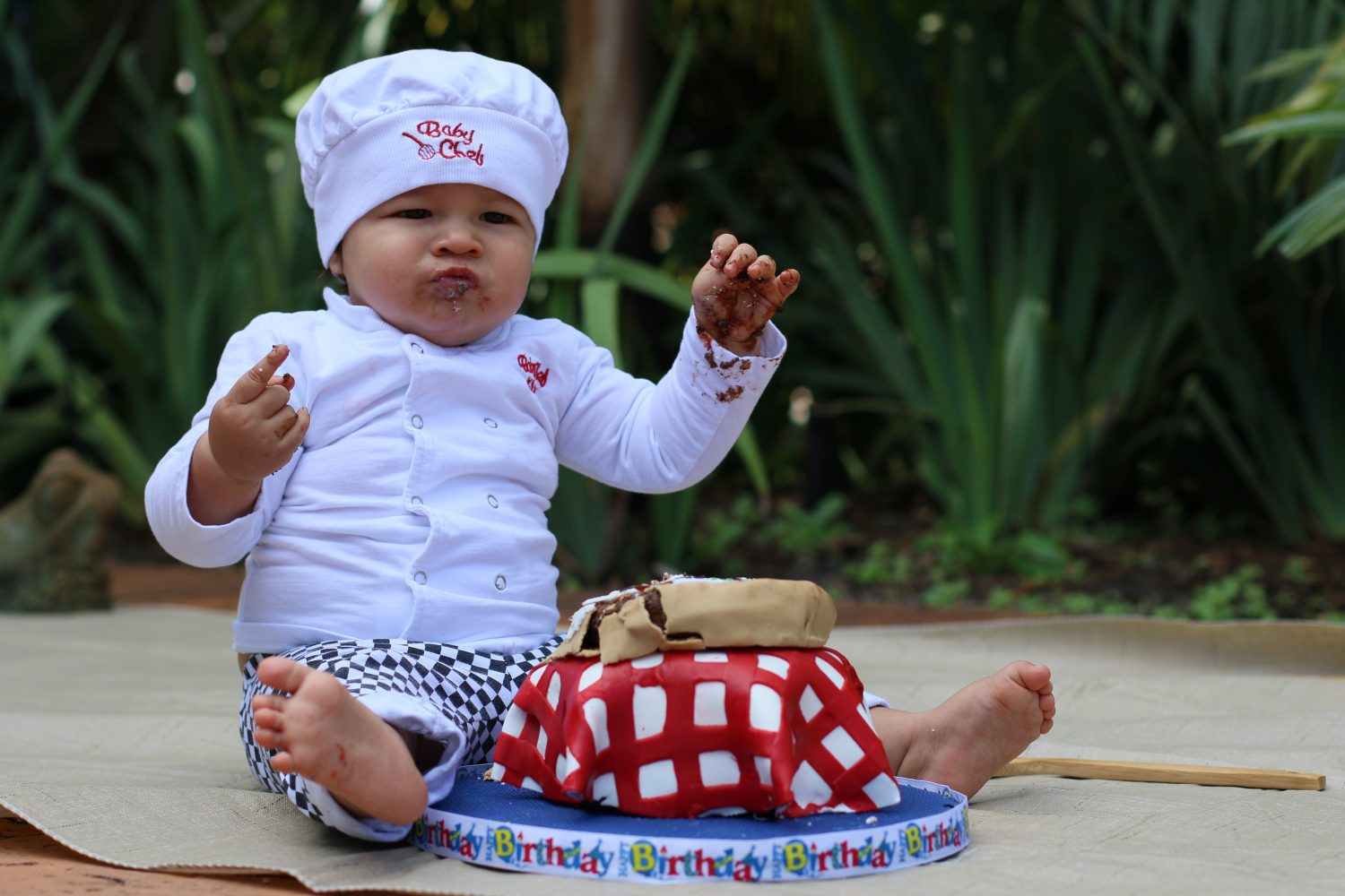 My Baby Turned One and he Transformed into an Italian Little Pizza Chef
